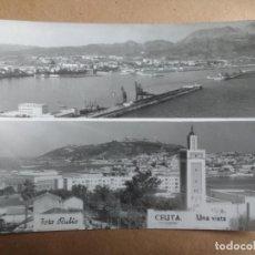 Postales: CEUTA, UNA VISTA, FOTO RUBIO. Lote 137762218