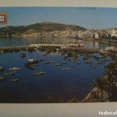 Postales: POSTAL DE CEUTA : VISTA PARCIAL . AÑOS 60, DETRAS PUBLICIDAD JOYERIA BENITEZ.. Lote 138926578