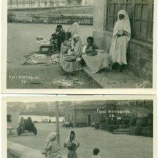 Cartes Postales: TIPOS MARROQUÍES. FOTO RAPIDE. CEUTA. LOTE DE 3 POSTALES.. Lote 142142650