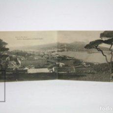 Postales: ANTIGUA POSTAL - CEUTA, VISTA PARCIAL Y MONTE HACHO - ED. HAUSER Y MENET - SIN CIRCULAR - AÑO 1922. Lote 142682346