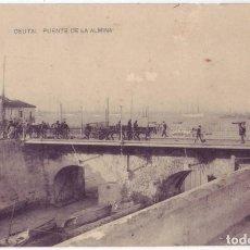 Postales: CEUTA: PUENTE DE LA ALMINA. HAUSER Y MENET. NO CIRCULADA (AÑOS 10). Lote 142970586