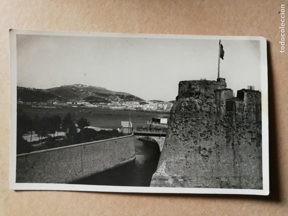 ANTIGUA POSTAL DE CEUTA. FOTÓGRAFO ROS. (Postales - España - Ceuta Antigua (hasta 1939))