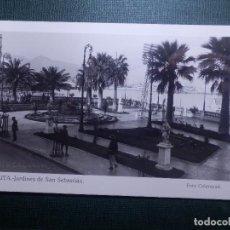 Postales: TARJETA POSTAL - CEUTA - JARDINES DE SAN SEBASTIAN - FOTO CALATAYUD - SIN CIRCULAR. Lote 144428898