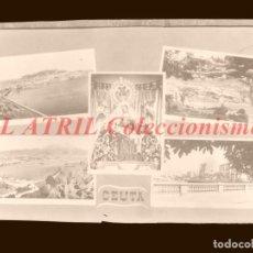 Postales: 1 CLICHE ORIGINAL - CEUTA - NEGATIVO EN CELULOIDE - EDICIONES ARRIBAS. Lote 145479578