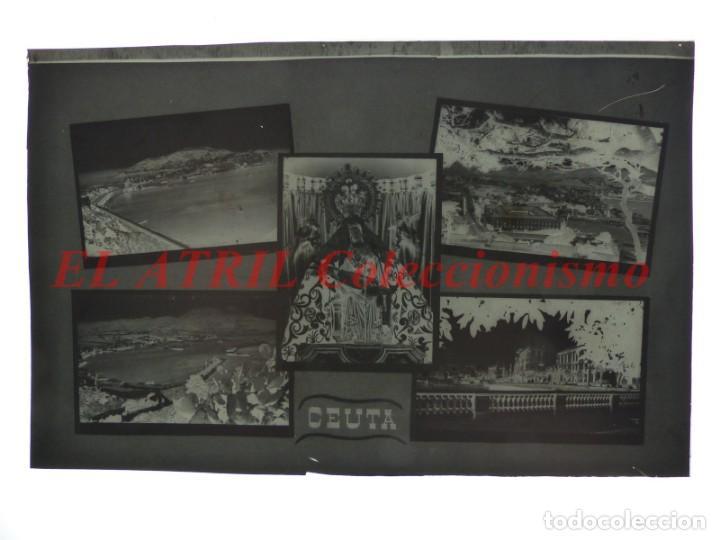 Postales: 1 CLICHE ORIGINAL - CEUTA - NEGATIVO EN CELULOIDE - EDICIONES ARRIBAS - Foto 2 - 145479578