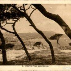 Postales: CEUTA. 2 – VISTA PANORAMICA – L. ROISIN - CIRCULADA. Lote 146182662