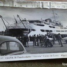 Postales: CEUTA - EL TRANSBORDADOR VICTORIA - ALGECIRAS - FOTO RUBIO Nº 145. Lote 146338890