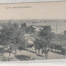 Postales: CEUTA MUELLE DE LA PUNTILLA FOTOTIPÍA HAUSER Y MENET. SIN CIRCULAR.. Lote 146744446