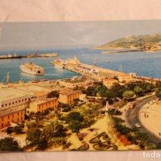 Postales: POSTAL ESCRITA SIN CIRCULAR DE CEUTA.PANORAMICA DEL PUERTO Nº1003. Lote 146839170