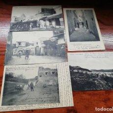 Postales: 5 POSTAL TETUAN 1915 5 POSTALES ANTIGUAS TETUAN. Lote 149335678