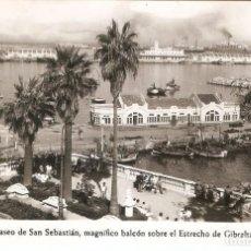 Postales: CEUTA 3 EL PASEO DE SAN SEBASTIAN FOTO RUBIO SIN CIRCULAR. Lote 149604714