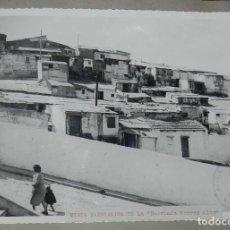 Postales: ANTIGUA FOTOGRAFIA DE CEUTA 1938, VISTA BARRIADA RECREO ALTO, MIDE 23 X 18 CMS. FOTO ROS, PEGADA A C. Lote 150815414