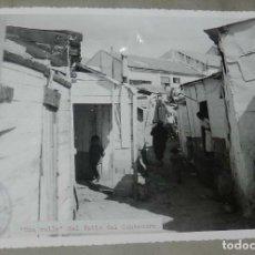 Postales: ANTIGUA FOTOGRAFIA DE CEUTA 1938, CALLE DEL PATIO DEL CENTENERO, MIDE 23 X 18 CMS. FOTO ROS, PEGADA . Lote 150815750