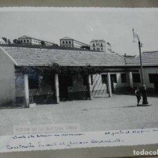 Postales: ANTIGUA FOTOGRAFIA DE CEUTA 1938, RINCON DE LA BARRIADA ORGAZ, JUNTO A LA ESTACION DE MIRAMAR, AL FO. Lote 150817610