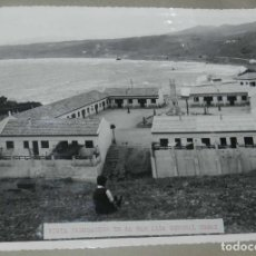 Postales: ANTIGUA FOTOGRAFIA DE CEUTA 1938, BARRIADA GENERAL ORGAZ, MIDE 23 X 18 CMS. FOTO ROS, PEGADA A CARTU. Lote 150817954