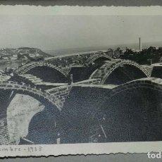 Postales: EXCEPCIONAL FOTOGRAFIA DE CEUTA, PLENA GUERRA CIVIL, 1 DE NOVIEMBRE DE 1938, AVANCE EN LAS OBRAS DE. Lote 151069514