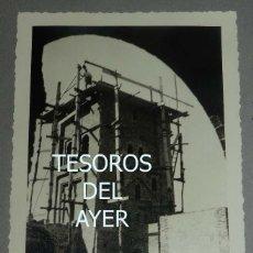 Postales: EXCEPCIONAL FOTOGRAFIA DE CEUTA, PLENA GUERRA CIVIL, 1 DE SEPTIEMBRE DE 1938, AVANCE EN LAS OBRAS D. Lote 151069682
