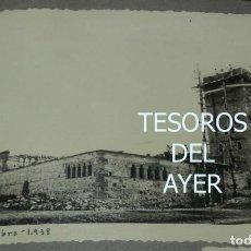 Postales: EXCEPCIONAL FOTOGRAFIA DE CEUTA, PLENA GUERRA CIVIL, 1 DE NOVIEMBRE DE 1938, AVANCE EN LAS OBRAS DE. Lote 151070310