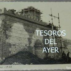 Postales: EXCEPCIONAL FOTOGRAFIA DE CEUTA, PLENA GUERRA CIVIL, 1 DE DICIEMBRE DE 1938, AVANCE EN LAS OBRAS DE. Lote 151070446