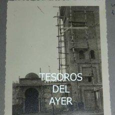 Postales: EXCEPCIONAL FOTOGRAFIA DE CEUTA, PLENA GUERRA CIVIL, 1 DE DICIEMBRE DE 1938, AVANCE EN LAS OBRAS DE. Lote 151070782