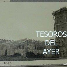 Postales: EXCEPCIONAL FOTOGRAFIA DE CEUTA, PLENA GUERRA CIVIL, 1 DE ENERO DE 1939, AVANCE EN LAS OBRAS DE CON. Lote 151071102