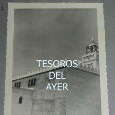 Postales: EXCEPCIONAL FOTOGRAFIA DE CEUTA, PLENA GUERRA CIVIL, 29 DE ABRIL DE 1939, AVANCE EN LAS OBRAS DE CO. Lote 151071542