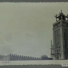 Postales: EXCEPCIONAL FOTOGRAFIA DE CEUTA, PLENA GUERRA CIVIL, 29 DE ABRIL DE 1939, AVANCE EN LAS OBRAS DE CO. Lote 151071786