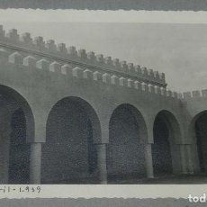 Postales: EXCEPCIONAL FOTOGRAFIA DE CEUTA, PLENA GUERRA CIVIL, 29 DE ABRIL DE 1939, AVANCE EN LAS OBRAS DE CO. Lote 151071882