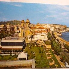 Postales: POSTAL CEUTA .-CALLE ING.CATENA Y PLAYA RIBERA. Lote 151461006