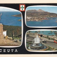 Postales: POSTAL BELLEZAS DE LA CIUDAD. CEUTA. Lote 152492578