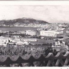 Postales: POSTAL DE CEUTA - HERMOSA VISTA DEL GRAN PUERTO AFRICANO. Lote 153063262