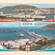 Postales: POSTAL VISTAS GENERALES. CEUTA (1967). Lote 153481874