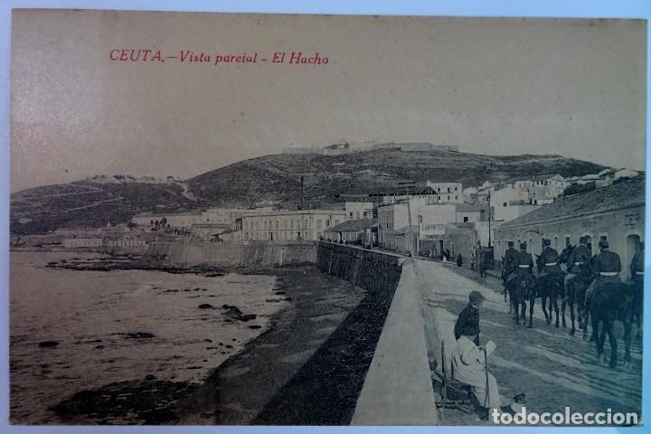 ANTIGUA POSTAL DE CEUTA, EL HACHO , VER FOTOS (Postales - España - Ceuta Antigua (hasta 1939))