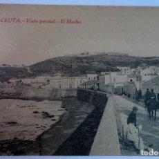 Postales: ANTIGUA POSTAL DE CEUTA, EL HACHO , VER FOTOS. Lote 154105450