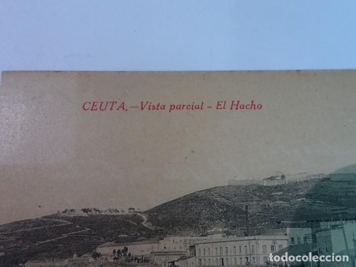 Postales: ANTIGUA POSTAL DE CEUTA, EL HACHO , VER FOTOS - Foto 3 - 154105450