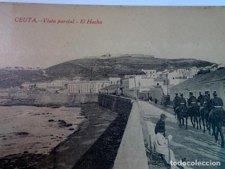 Postales: ANTIGUA POSTAL DE CEUTA, EL HACHO , VER FOTOS - Foto 4 - 154105450