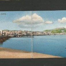 Postales: CEUTA-VISTA PANORAMICA-POSTAL DOBLE ANTIGUA-(57.504). Lote 154195634