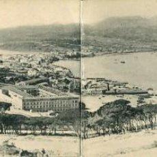 Postales: CEUTA -VISTA GENERAL DESDE EL HACHO-DIPTICO-HAUSER. Lote 154321294
