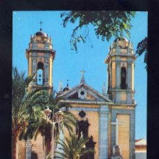 Postales: POSTAL DE CEUTA_ FACHADA DE LA CATEDRAL (ED.LIB.GENERAL 14). Lote 154465430
