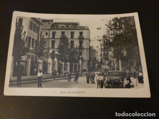 CEUTA UNA CALLE (Postales - España - Ceuta Antigua (hasta 1939))