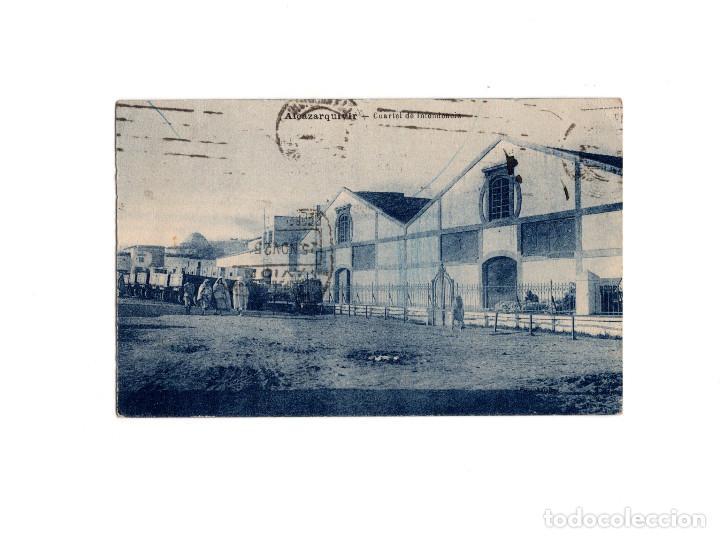 ALCAZARQUIVIR.(CEUTA).- CUARTEL DE INTENDENCIA (Postales - España - Ceuta Antigua (hasta 1939))