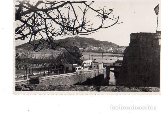 TARJETA POSTAL DE CEUTA. VISTA. FOTO- RUBIO. (Postales - España - Ceuta Antigua (hasta 1939))