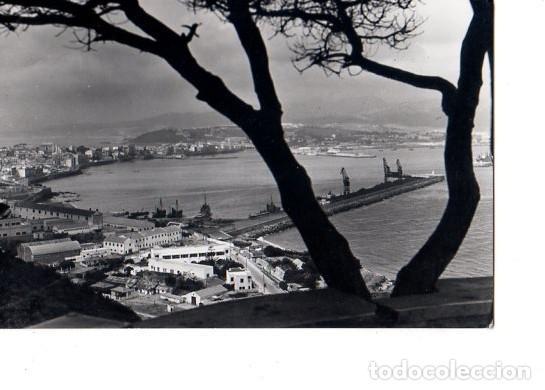 TARJETA POSTAL DE CEUTA. UNA VISTA DE LA HERMOSA CIUDAD. (Postales - España - Ceuta Antigua (hasta 1939))