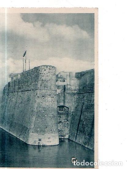 TARJETA POSTAL DE CEUTA. DETALLE DE LA MURALLA REAL. (Postales - España - Ceuta Antigua (hasta 1939))