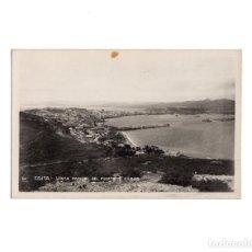 Postales: CEUTA.- VISTA PARCIAL DEL PUERTO Y CIUDAD. POSTAL FOTOGRÁFICA. Lote 155508986
