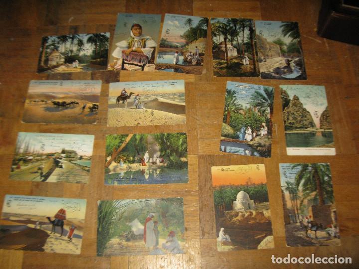 LOTE POSTALES ANTIGUAS DESCONOZCO LUGAR PERO DEBEN SER CEUTA MARRUECOS AÑOS 1910-1920 ESCRITAS (Postkarten - Spanien - Altes Ceuta (bis 1939))