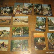 Postales: LOTE POSTALES ANTIGUAS DESCONOZCO LUGAR PERO DEBEN SER CEUTA MARRUECOS AÑOS 1910-1920 ESCRITAS. Lote 156034814
