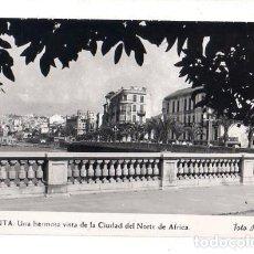 Postales: TARJETA POSTAL DE CEUTA. UNA HERMOSA VISTA DE LA CIUDAD DEL NORTE DE AFRICA. FOTO RUBIO.. Lote 156048962