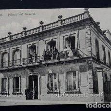 Postales: POSTAL CEUTA PALACIO DEL GENERAL . COLECCION HISPANO MARROQUI 14 A. AREVALO CA AÑO 1905. Lote 156632030