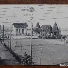 Postales: CEUTA - LA HIPICA . EDICIÓN ROS-CEUTA - CIRCULADA 10-ABRIL 1927. Lote 156997454